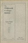 Whitworth College Bulletin 1912-1913