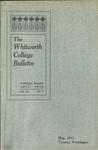 Whitworth College Bulletin 1913-1914