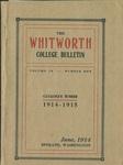 Whitworth College Bulletin 1914-1915