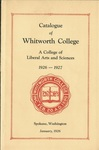 Catalogue of Whitworth College 1926-1927