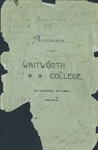 Catalogue of Whitworth College 1895-1896