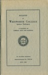 Bulletin of Whitworth College 1929-1930