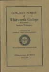 Catalogue Number of Whitworth College 1930-1931