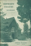 Whitworth College Annual Catalog 1939-1940