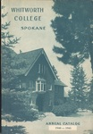 Whitworth College Annual Catalog 1940-1941