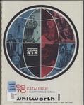 Whitworth College Bulletin 1969-1970