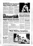The Whitworthian 1967-1968