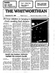 The Whitworthian 1986-1987