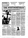 The Whitworthian 1987-1988