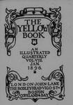 The Yellow Book, Vol. 8 by Aubrey Beardsley, Patten Wilson, Henry Harland, and John Lane